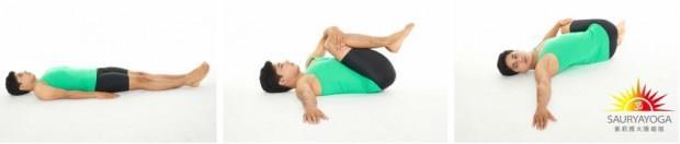 過年大魚大肉,覺得身體好沉重?3分鐘「清腸瑜珈」助消化,甩掉肥肚腩