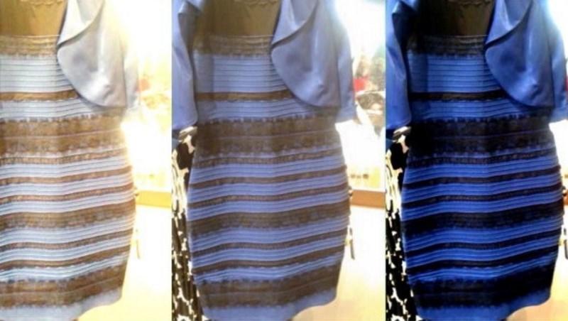 一件洋裝,有人看成白金有人看成藍黑...眼科醫師:水晶體老化的人比較容易看成這顏色