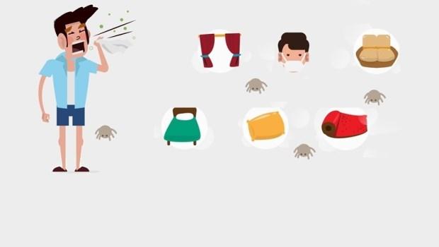 濕氣高,一條棉被可以住70萬隻塵蟎!2個方法清理床墊寢具,把塵蟎趕下床