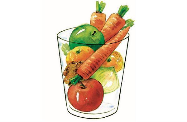 早上一杯助排毒!蘿蔔蘋果汁清血脂