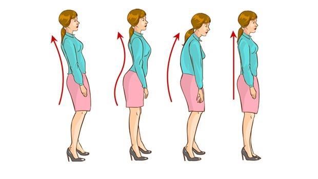 常常被人家說走路會駝背?試試看!練習「縮下巴」就能改善