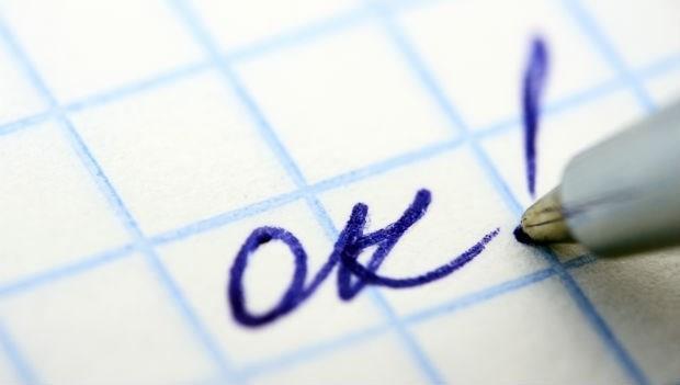 看到醫師在你的病歷上寫「OK」千萬別高興,這表示你....