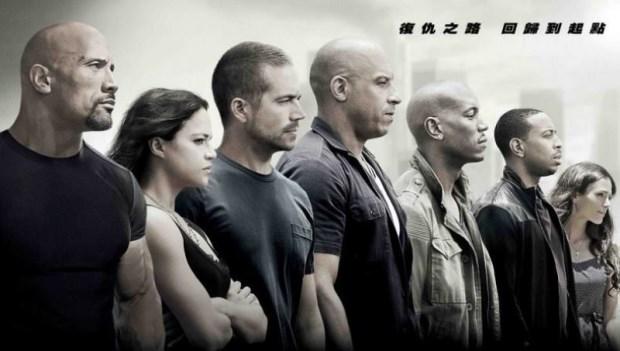 《玩命關頭》馮迪索、巨石強森及傑森史塔森...難道肌肉越大塊,就容易禿頭?