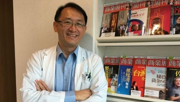 熬過4次化療、頭髮全掉光,馬偕醫師林俊昌勇抗血癌:剛開始只覺得感冒很難好...