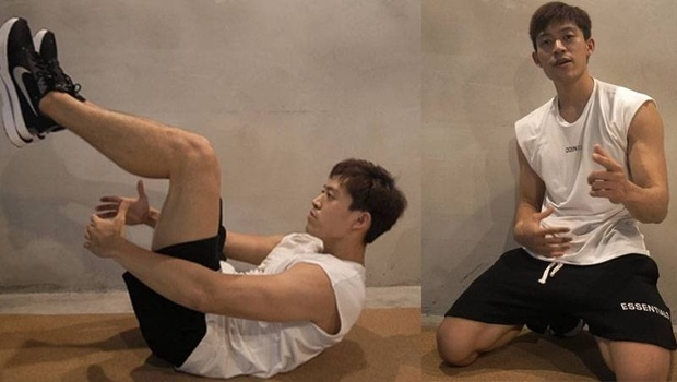 有影片》國際健美賽亞軍的「5分鐘增肌減脂」居家菜單!只要一張瑜珈墊,5組動作緊實全身肌群