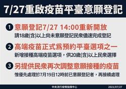 疫苗預約系統》登記意願重新開放!新增「高端疫苗」入選項,中研院研究員揭露:台灣「會有4種人」要打高端
