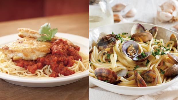 外食減肥的最大困擾:白酒蛤蠣麵VS.番茄嫩雞麵?牛肉壽喜鍋VS.泡菜豬肉鍋?