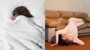 冬天吃多不怕胖!只要睡前3分鐘,5招床上伸展操,消水腫又助眠