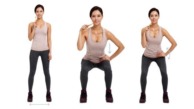 早上花「5分鐘空檔」就能瘦!韓國第一名模特兒教你:減肥必勝「輕肌力運動」這樣做