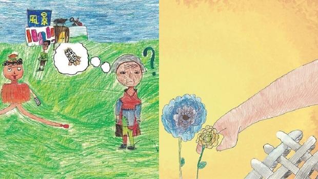 23位小學生,當3年志工照顧失智患者!從他們的創作繪本《超人奶奶》,用「4F提問法」教孩子不怕與失智長輩相處