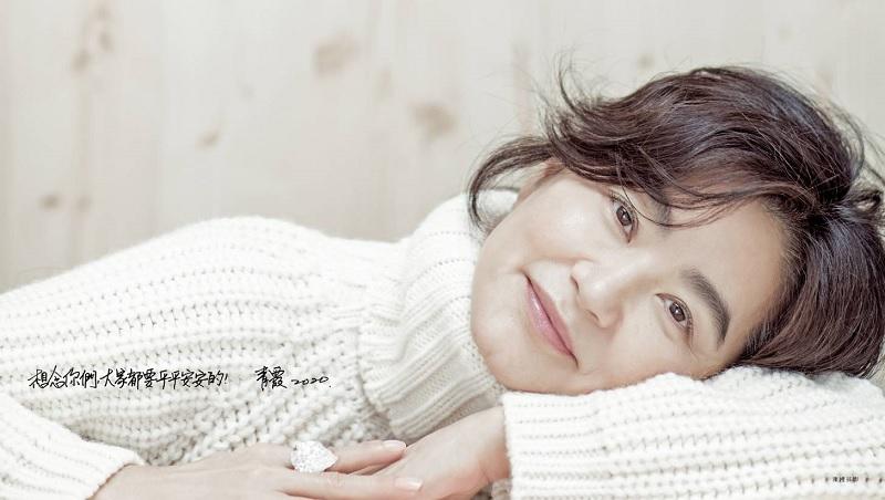 「我不再在乎別人的眼光!」60歲的林青霞,悟出人生圓滿秘訣:不管幾歲,都把自己當作「新生兒」