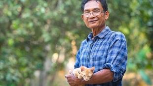 一次流浪貓的死亡通報,竟讓一位討厭流浪貓的老人開始餵貓...一位志工的體悟:學習把黑暗留給自己,正向才能帶來共鳴