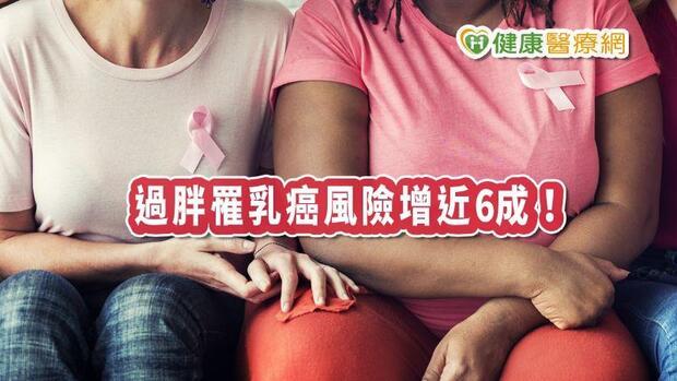 肥胖罹乳癌增6成! 這幾件事可降低罹癌風險
